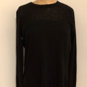 Vince black cashmere crew neck sweater XS